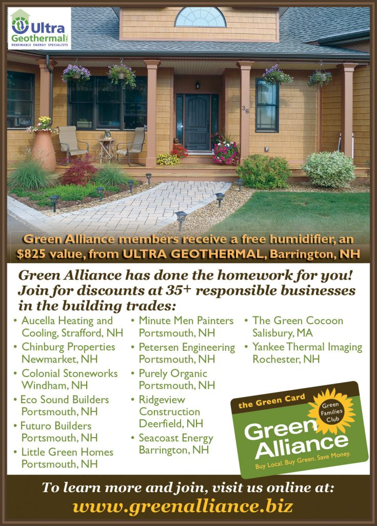 Look for us as the featured Green Alliance Business Partner in the January issue of Coastal Home Magazine!